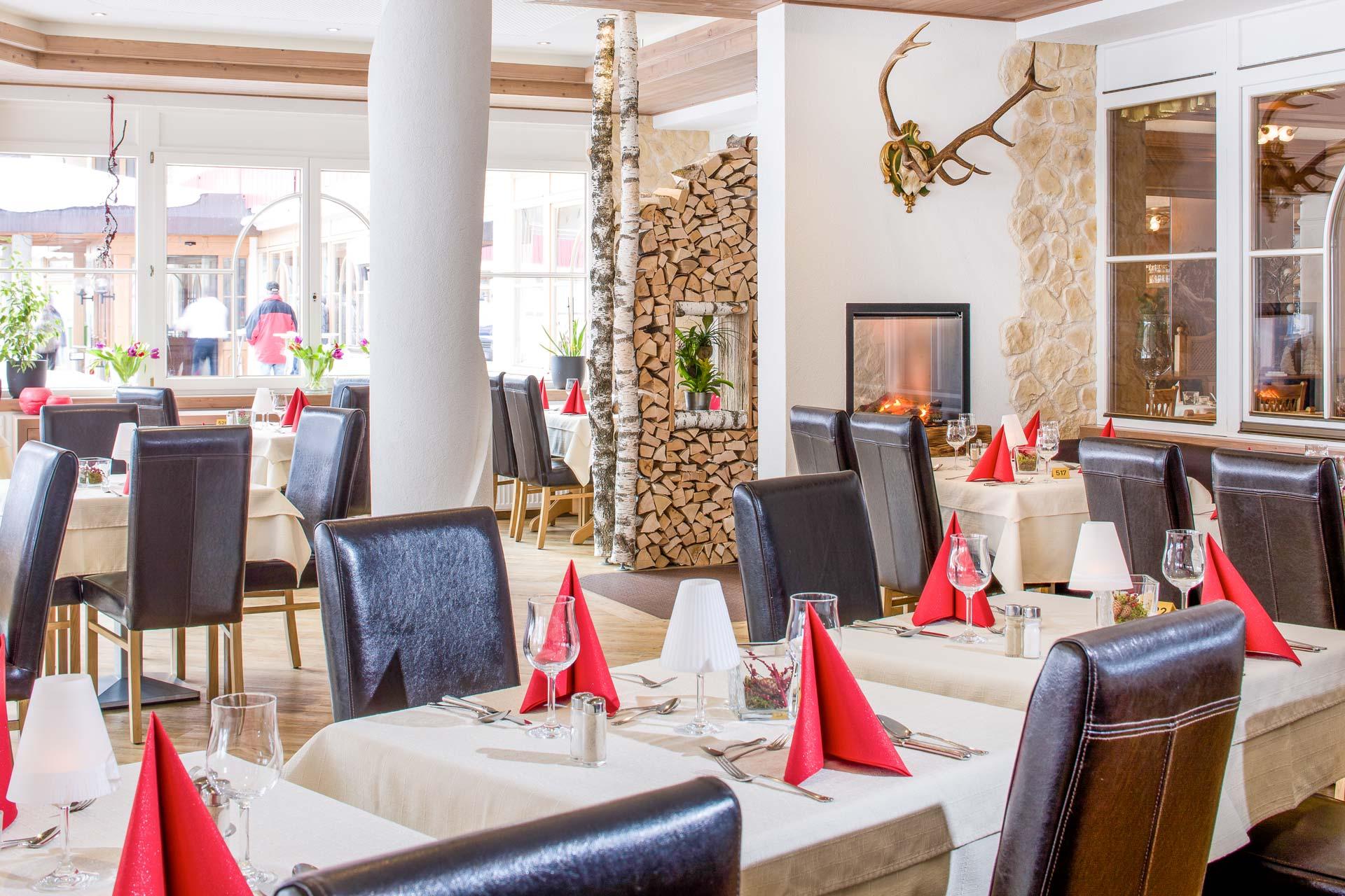 Restaurant Wintergarten ∙ Aparthotel Kleinwalsertal